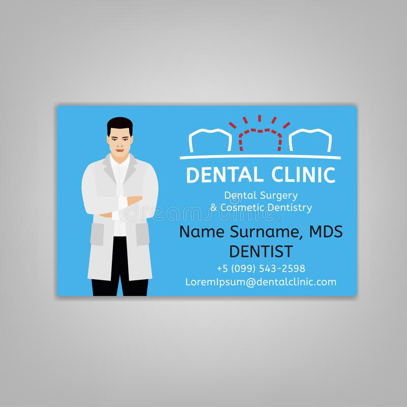doctor id card stock vector illustration of care dental 113051576