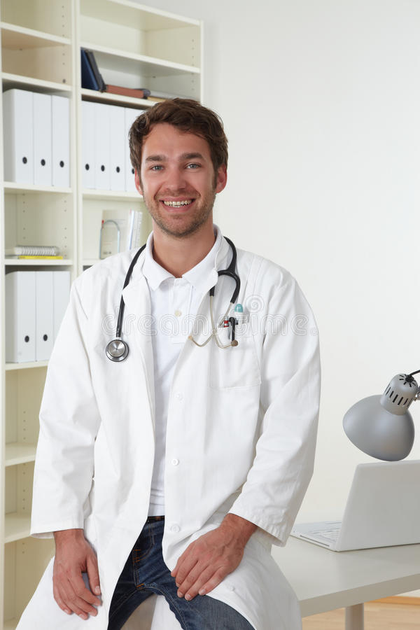 Free Doctor In Clinic Stock Image - 19300511
