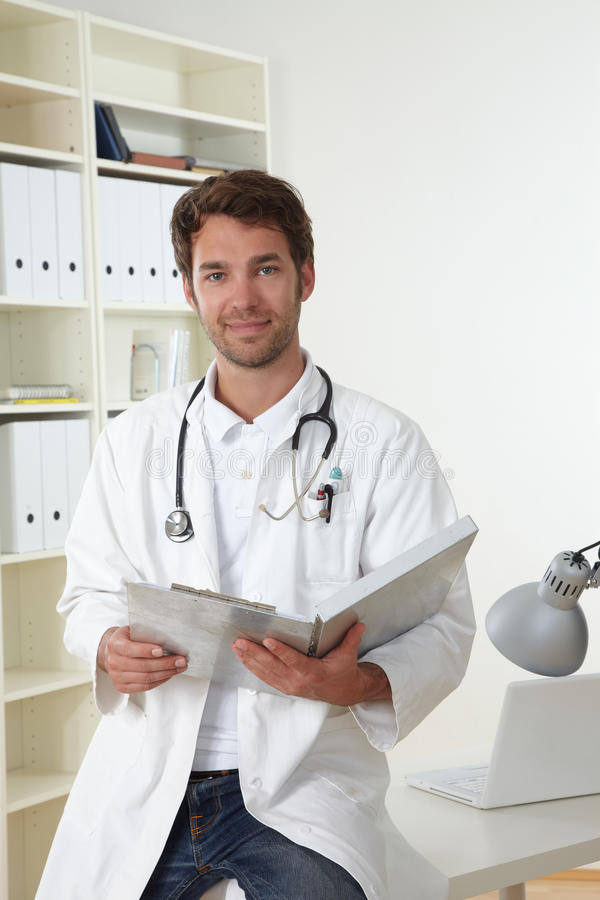 Free Doctor In Clinic Stock Image - 19300591