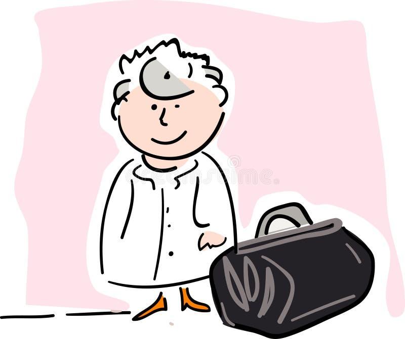 Doctor.jpg stock de ilustración