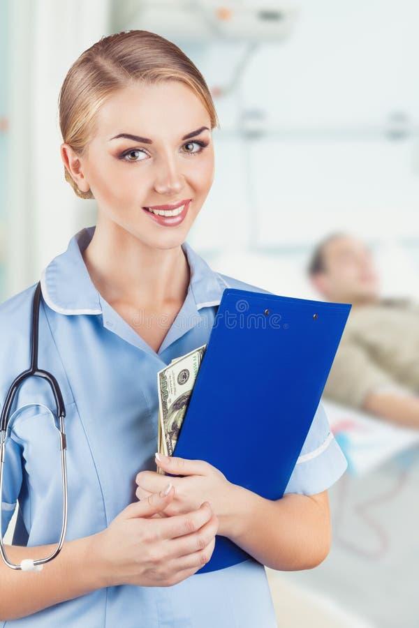 doctor kvinnan royaltyfri fotografi