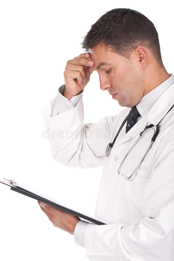Download Doctor Looking Worried Royalty Free Stock Photos - Image: 21123698