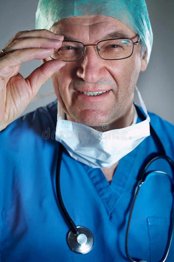 Download Doctor with Mask stock image. Image of emergency, hospital - 2256095
