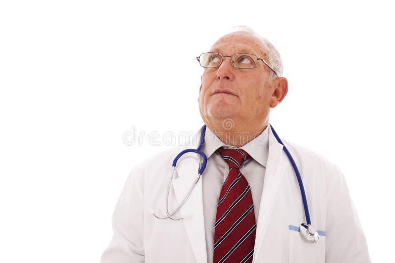 Doctor mayor imagen de archivo