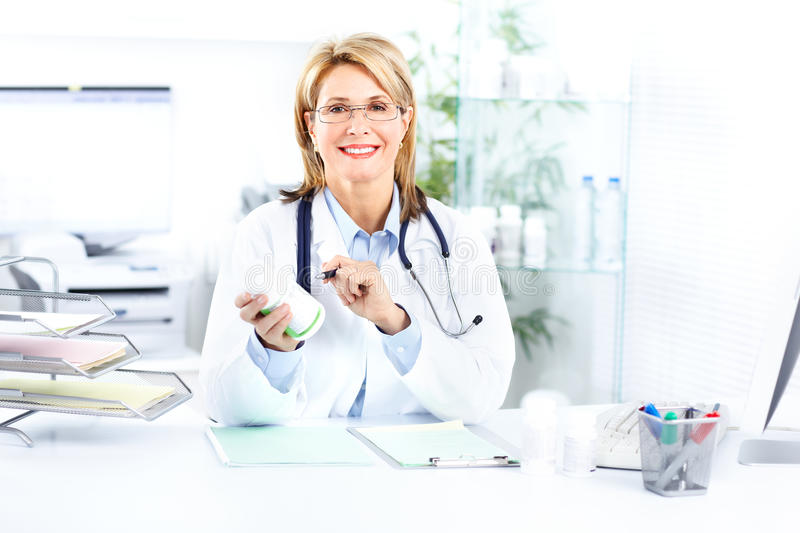 Doctor. Medical doctor woman in the office. Health care stock photos