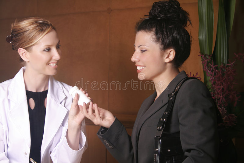 Download Doctor Or Naturapath Recommends Product Stock Image - Image: 38263