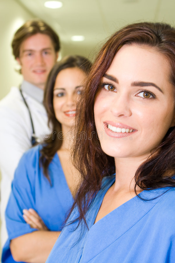 Download Doctor and nurse stock image. Image of female, confident - 8096393