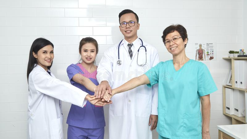 doctor and nurse madical team stock photography