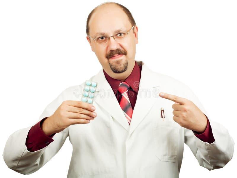 Doctor o farmacéutico imágenes de archivo libres de regalías