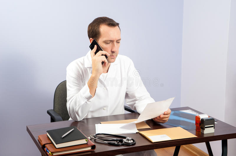 Doctor office stock images