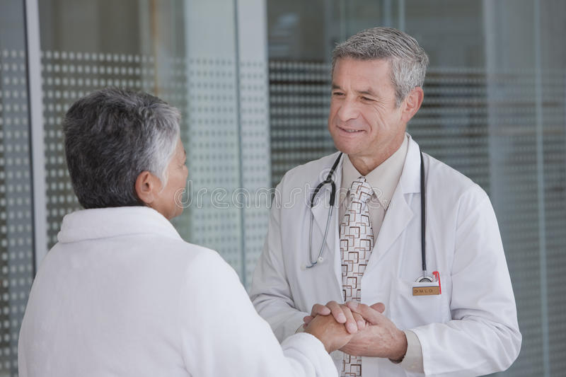 Download Doctor and patient stock photo. Image of caucasian, patient - 10470824
