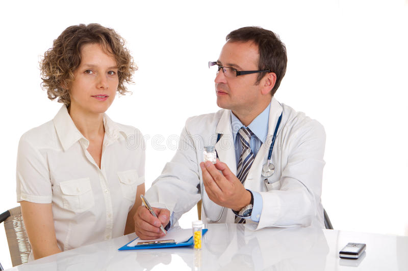 Download Doctor and patient stock image. Image of hospital, gynaecologist - 16106049