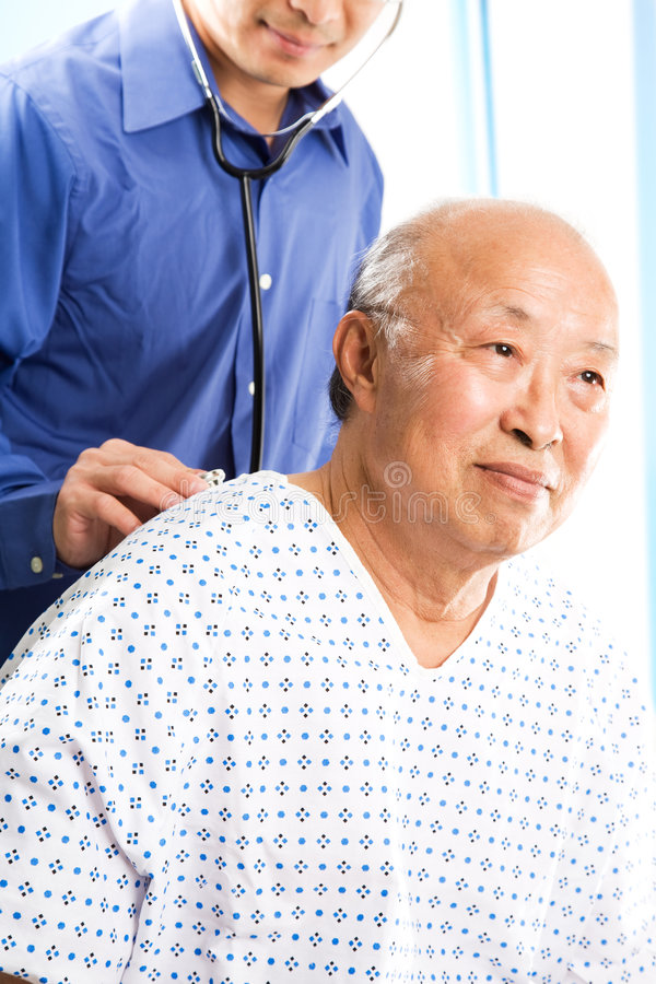 Download Doctor and patient stock photo. Image of medical, diagnose - 5953994