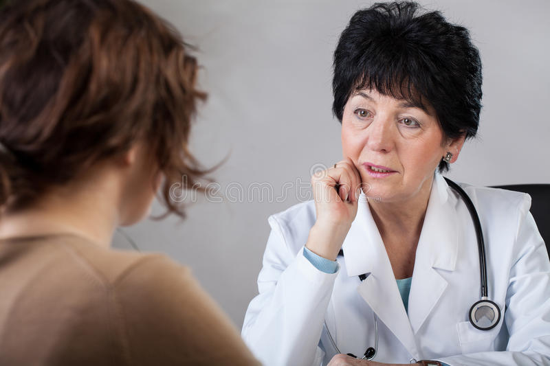 Download Doctor with patient stock image. Image of professional - 38210279