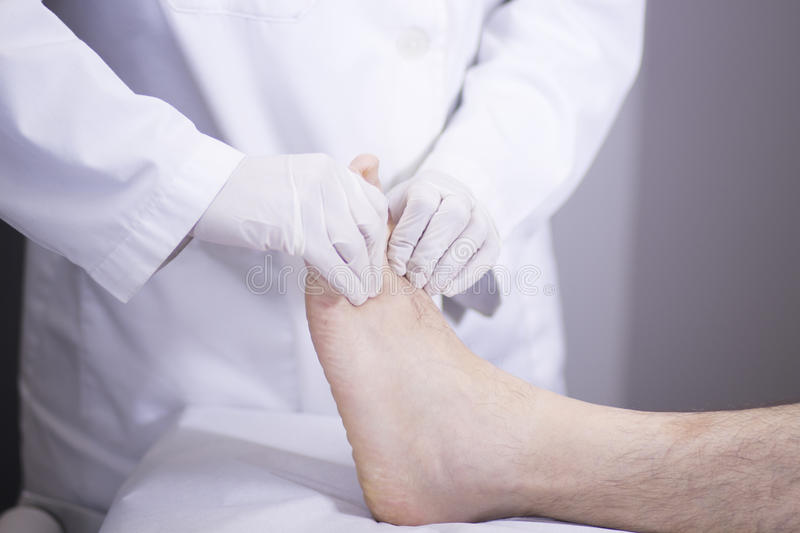 Doctor patient medical examination royalty free stock image