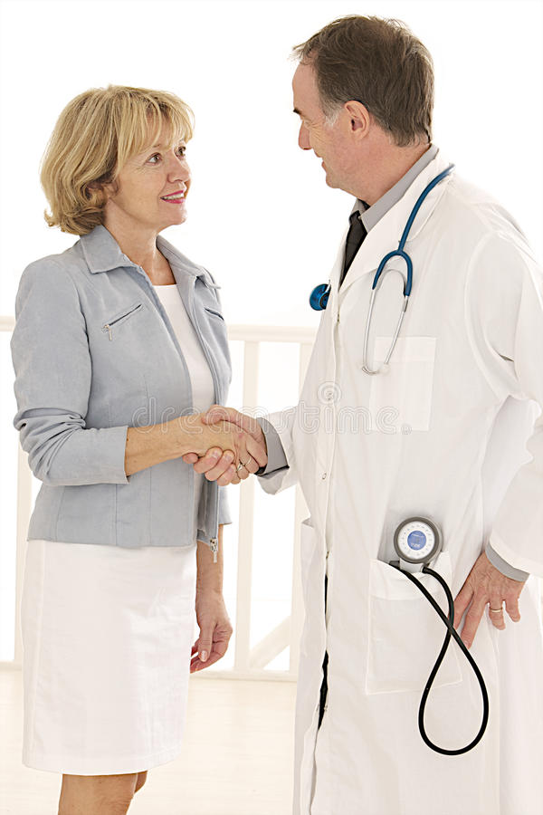 Download Doctor And Patient Shaking Hands Stock Photo - Image: 34444506