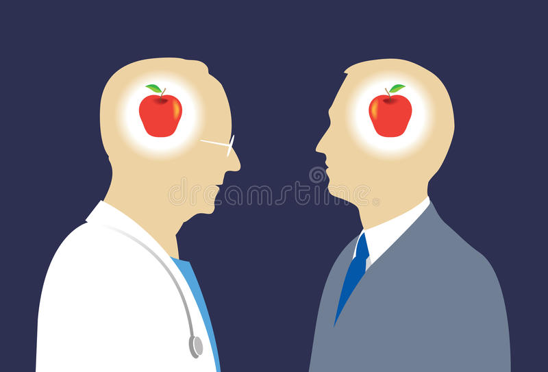 Download Doctor And Patient Understanding Stock Vector - Image: 25807371