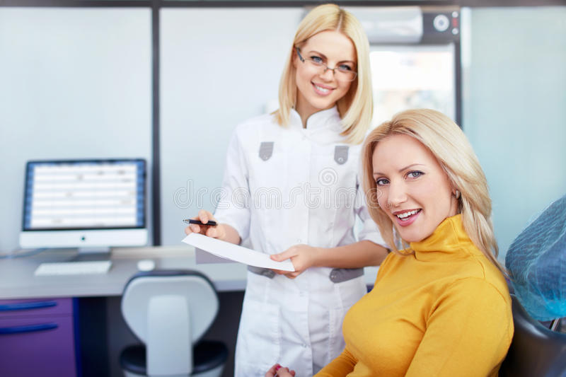 Download Doctor and patient stock photo. Image of clinic, looking - 31369844