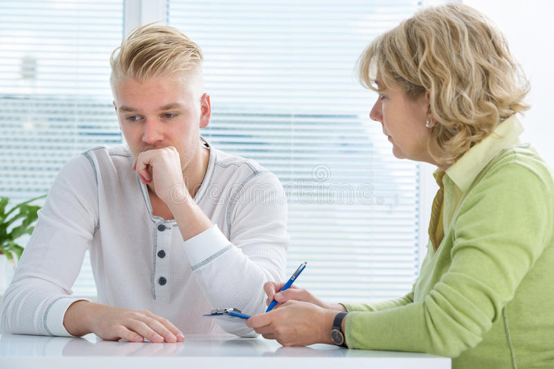 Download Doctor and patient stock photo. Image of consultant, diagnosis - 33438074