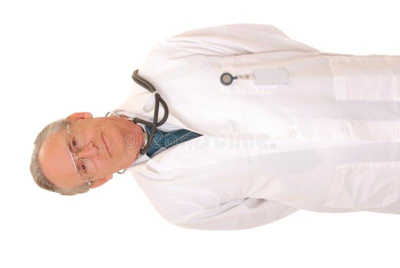 doctor pensionären royaltyfria foton