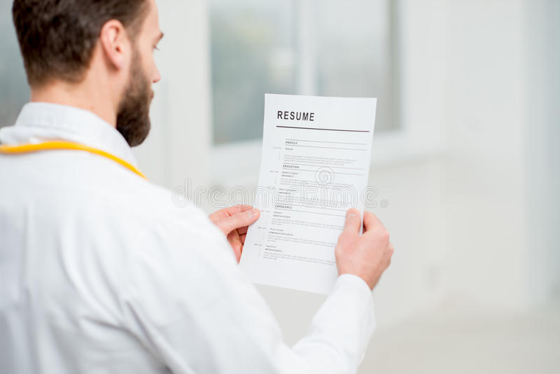 Doctor resume search