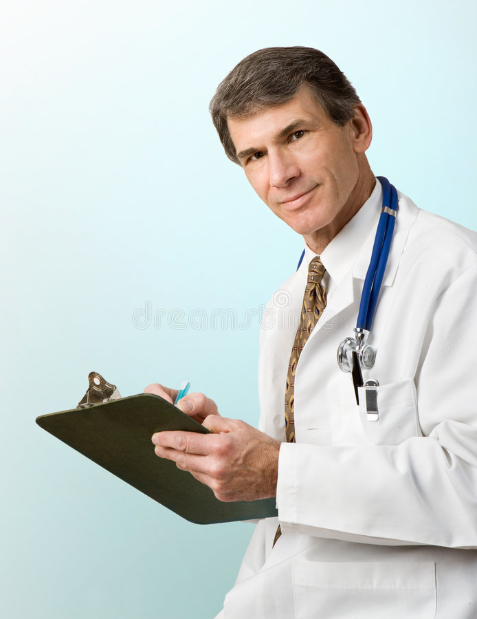 Doctor's Advice royalty free stock images