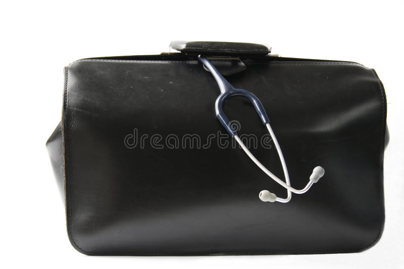 Doctor's bag royalty free stock photos
