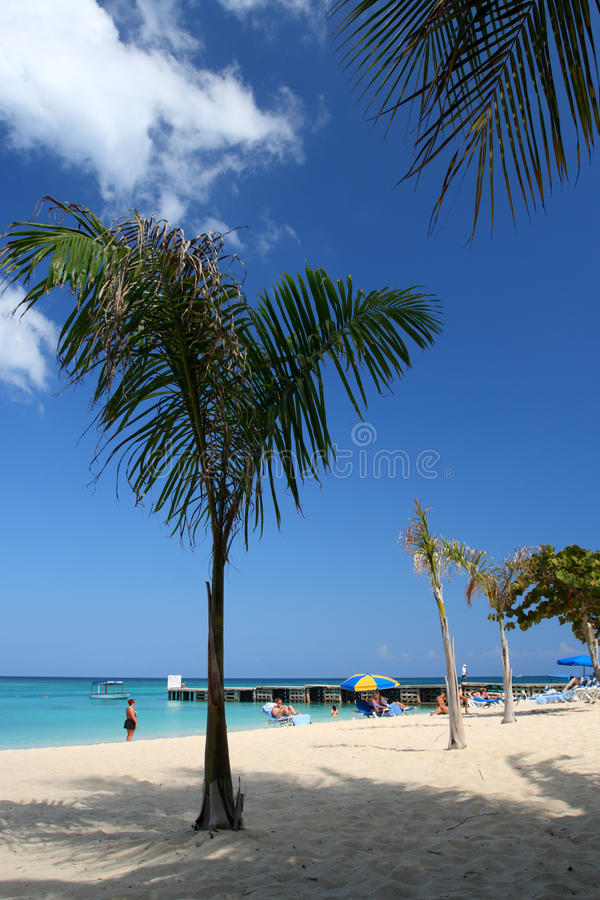 Doctor's Cave Beach Club, Montego Bay, Jamaica royalty free stock photos