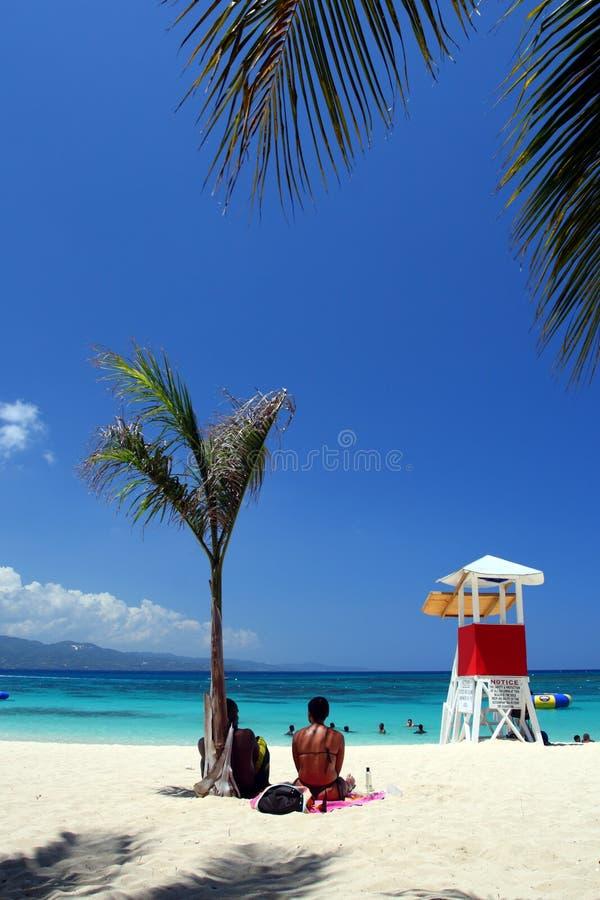 Doctor's Cave Beach Club, Montego Bay, Jamaica stock photography