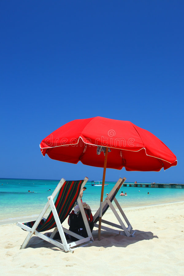 Doctor S Cave Beach, Montego Bay, Jamaica Royalty Free Stock Photography