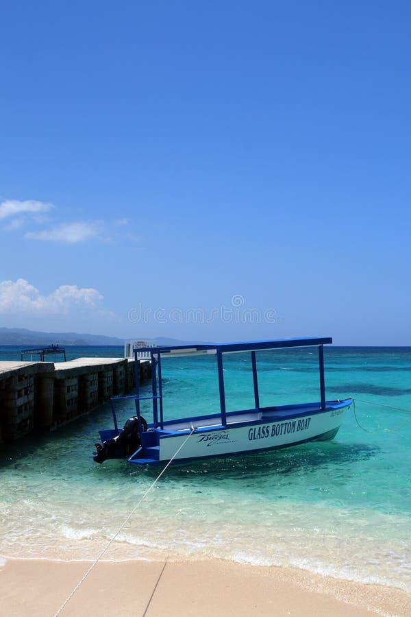 Doctor's Cave Beach, Montego Bay, Jamaica stock photography