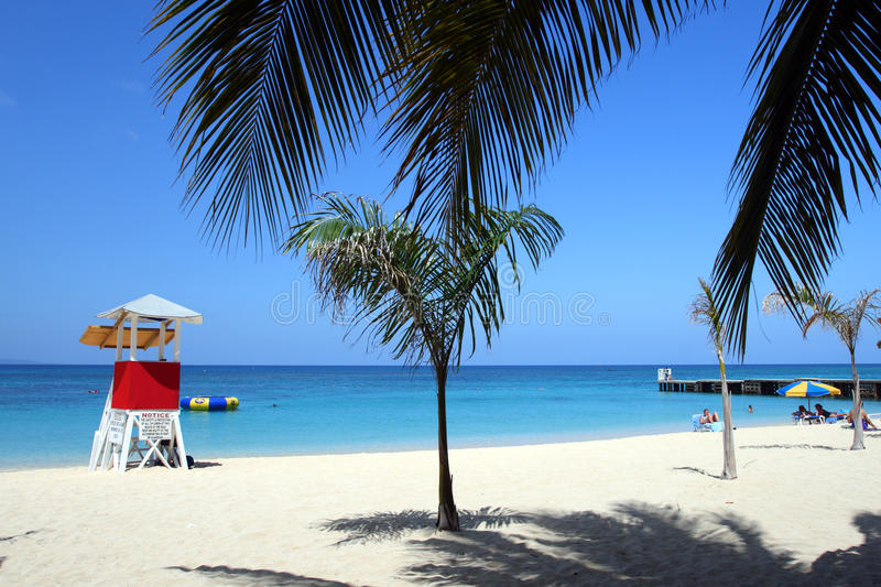 Doctor's Cave Beach, Montego Bay, Jamaica. Doctor's Cave Beach Club, Montego Bay (also known as Doctor's Cave Bathing Club) has been one of the most famous stock photography