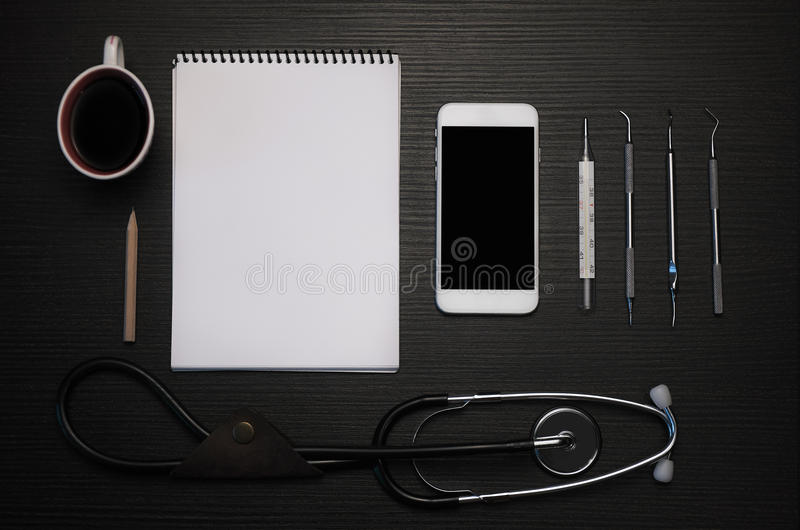 Doctor`s kit stock images