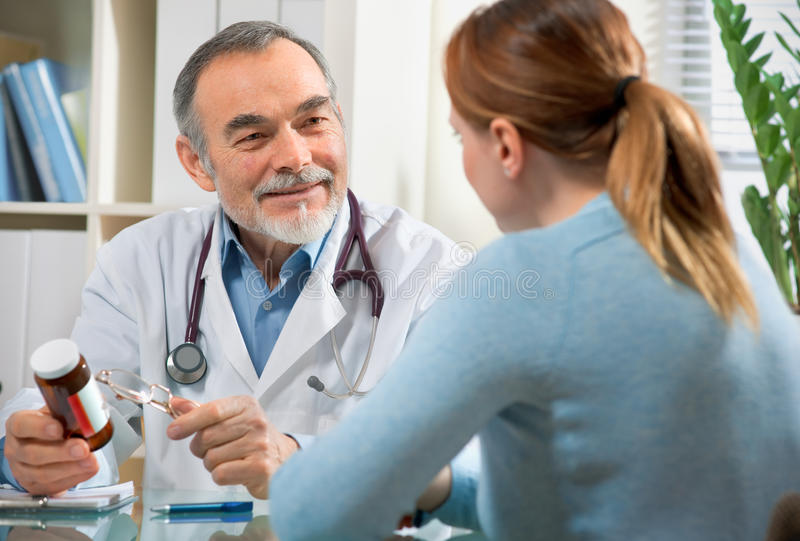 Download At the doctor's office stock photo. Image of medicine - 17990348