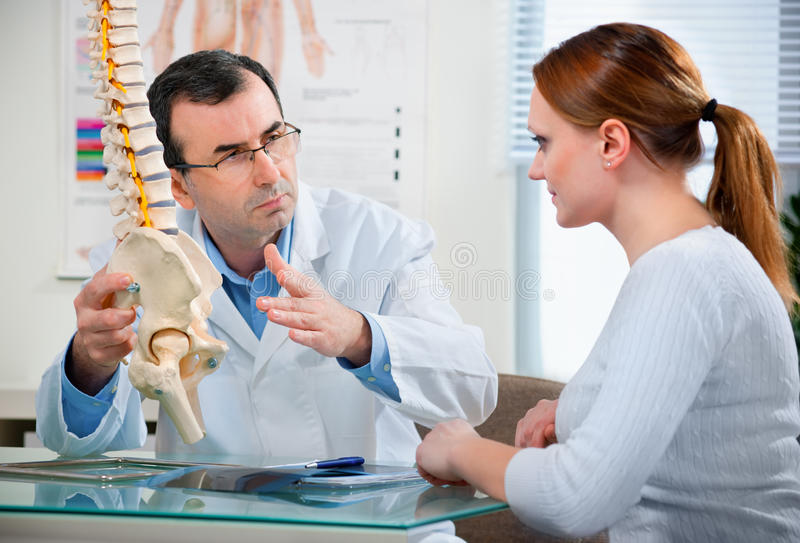 Download At The Doctor's Office Royalty Free Stock Images - Image: 17990539