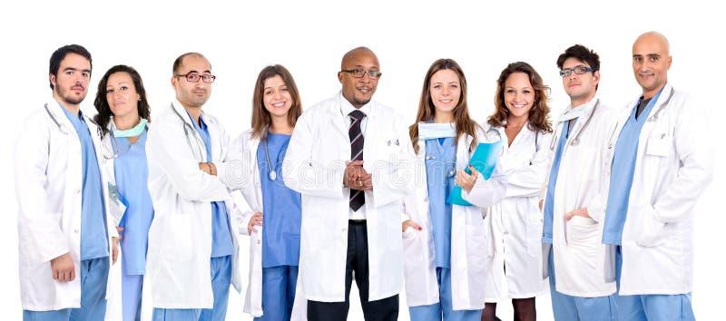 Doctor's team stock photos