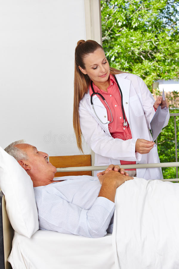 Download Doctor Showing Patient X-ray Image Stock Image - Image: 29021391