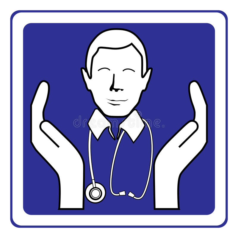 Download Doctor sign stock vector. Illustration of concern, human - 14040976