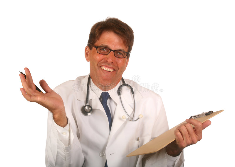 Doctor sin opciones imagenes de archivo