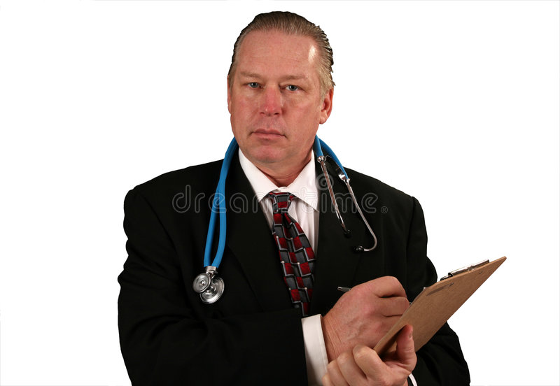 Download Doctor or Surgeon stock image. Image of color, boss, confidence - 4617873