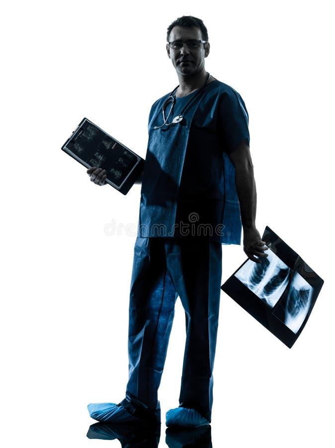 Doctor Surgeon Radiologist Royalty Free Stock Image