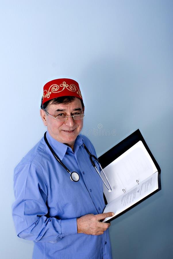 Doctor turco foto de archivo