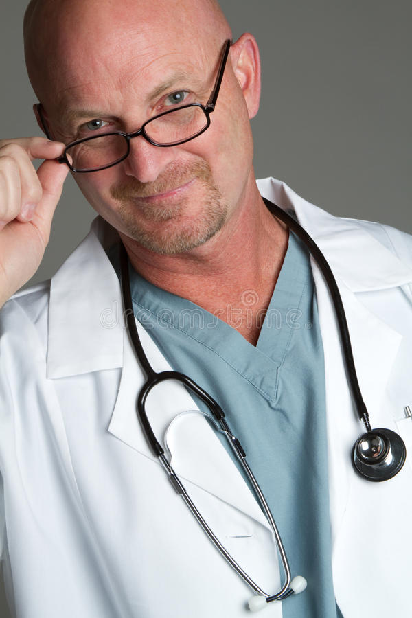 Download Doctor Wearing Glasses stock image. Image of cheerful - 20915891