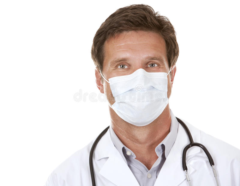 Download Doctor wearing a mask stock photo. Image of professional - 26485640