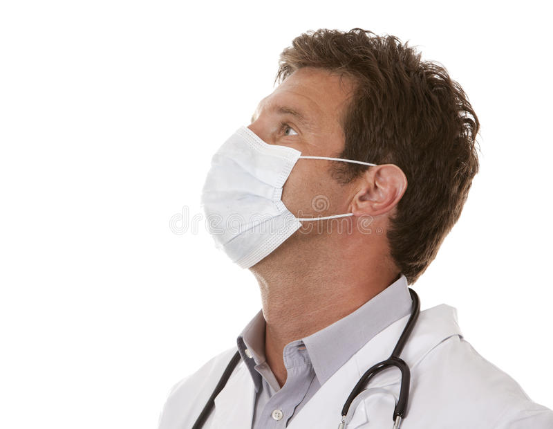 Download Doctor wearing a mask stock image. Image of healthcare - 26485677