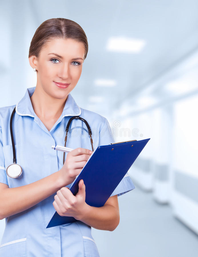 Doctor woman stock images