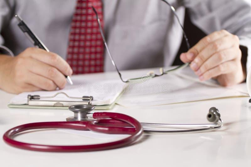 Doctor work stock photo