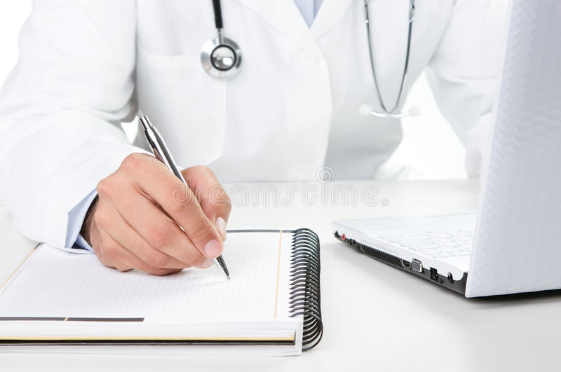 Doctor At Work Royalty Free Stock Photos