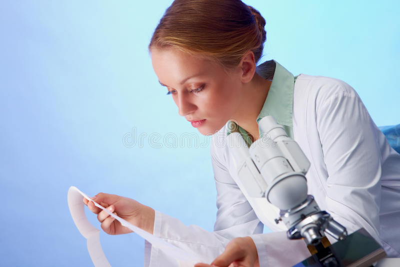 Doctor at work stock images