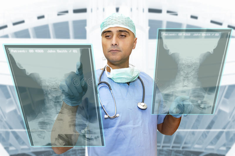 Download Doctor working stock photo. Image of diagnosis, isolated - 14854236